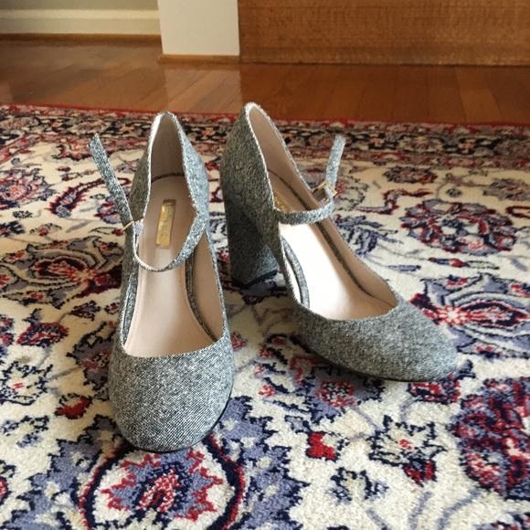 5b7e460d53b1 Louise et Cie Shoes - Louise Et Cie Jayde Mary Jane block heel grey 8